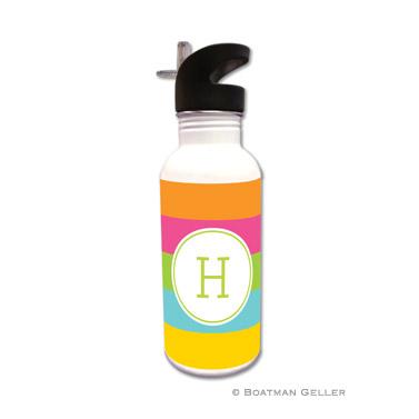 Bold Stripe Water Bottle