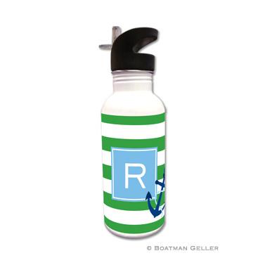 Stripe Anchor Water Bottle
