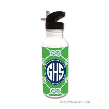 Nautical Knot Kelly Water Bottle
