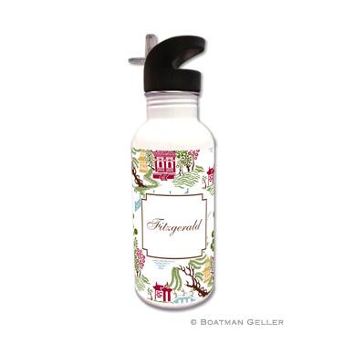 Chinoiserie Autumn Water Bottle