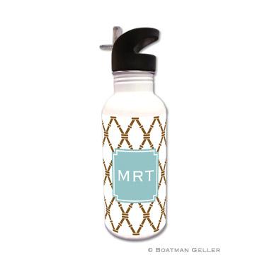Bamboo Brown & Slate Water Bottle