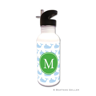 Whale Repeat  Water Bottle