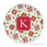 Suzani Holiday Plate by Boatman Geller