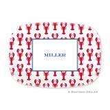 Lobsters Red Personalized Platter by Boatman Geller