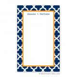 Bristol Tile Navy Notepad by Boatman Geller