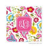 Bright Floral Coasters by Boatman Geller