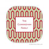 Blaine Cherry Holiday Coaster - set of 4 by Boatman Geller