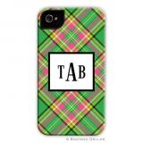 Preppy Plaid Holiday Cell Case by Boatman Geller