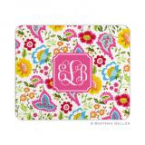 Bright Floral Mouse Pad by Boatman Geller