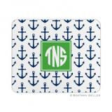Anchors Navy Mouse Pad by Boatman Geller