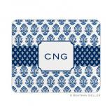 Beti Navy Mouse Pad by Boatman Geller