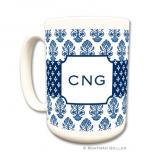Beti Navy Coffee Mug by Boatman Geller