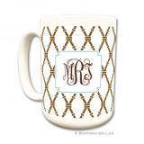 Bamboo Brown & Slate Coffee Mug by Boatman Geller