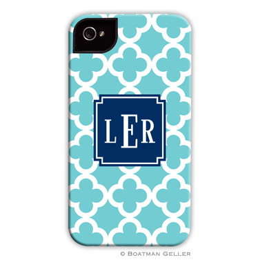 iPod & iPhone Cell Phone Case - Bristol Tile Teal