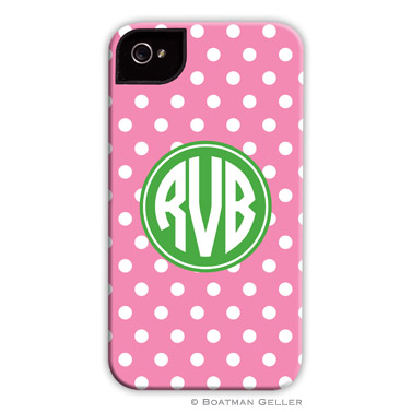 iPod & iPhone Cell Phone Case - Polka Dot Bubblegum
