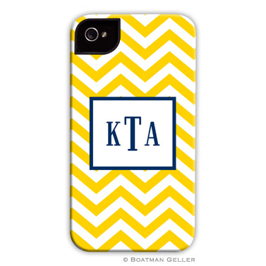 iPod & iPhone Cell Phone Case - Chevron Sunflower