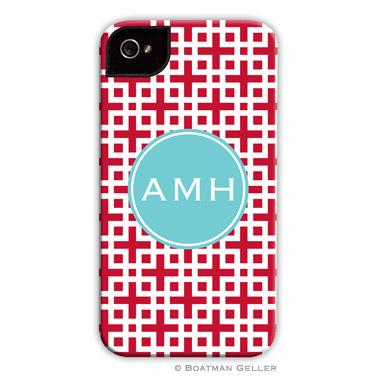 iPod & iPhone Cell Phone Case - Lattice Cherry
