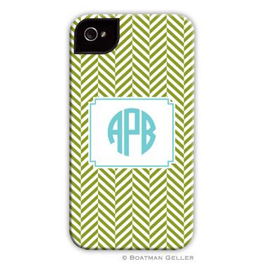 iPod & iPhone Cell Phone Case - Herringbone Jungle