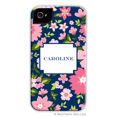 iPod & iPhone Cell Phone Case - Caroline Floral Pink