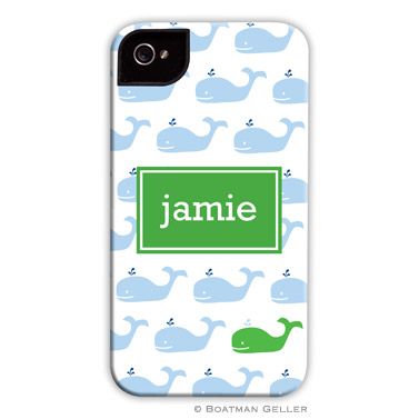 iPod & iPhone Cell Phone Case - Whale Repeat