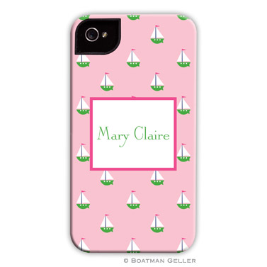 iPod & iPhone Cell Phone Case - Little Sailboat Pink