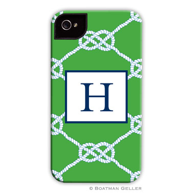 iPod & iPhone Cell Phone Case - Nautical Knot Kelly