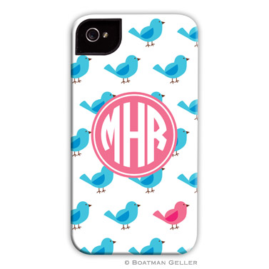 iPod & iPhone Cell Phone Case - Birdies Repeat