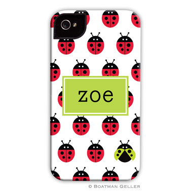 iPod & iPhone Cell Phone Case - Ladybugs Repeat