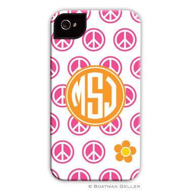 iPod & iPhone Cell Phone Case - Peace Repeat
