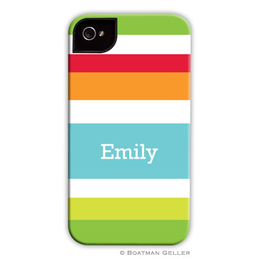 iPod & iPhone Cell Phone Case - Espadrille Bright