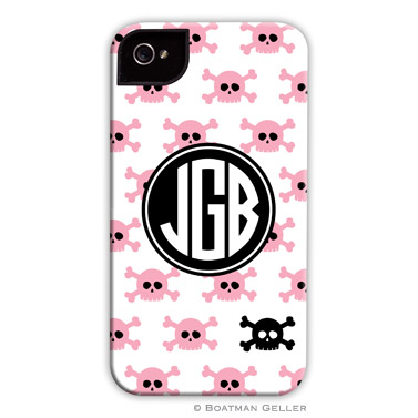 iPod & iPhone Cell Phone Case - Skull Repeat