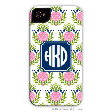 iPod & iPhone Cell Phone Case - Pineapple Repeat Pink