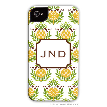 iPod & iPhone Cell Phone Case - Pineapple Repeat