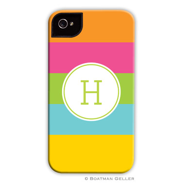iPod & iPhone Cell Phone Case - Bold Stripe