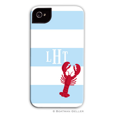 iPod & iPhone Cell Phone Case - Stripe Lobster