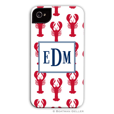 iPod & iPhone Cell Phone Case - Lobsters Red