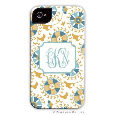 iPod & iPhone Cell Phone Case - Suzani Gold