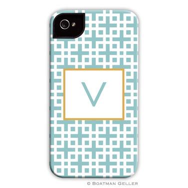 iPod & iPhone Cell Phone Case - Lattice Slate