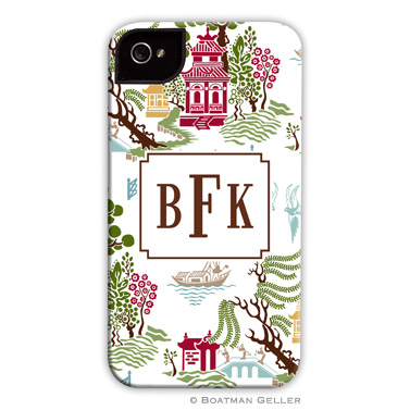 iPod & iPhone Cell Phone Case - Chinoiserie Autumn