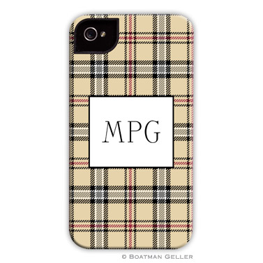 iPod & iPhone Cell Phone Case - Town Plaid