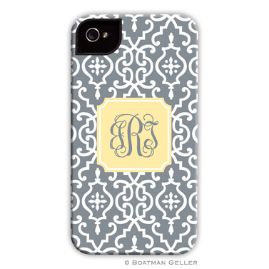 iPod & iPhone Cell Phone Case - Wrought Iron Gray