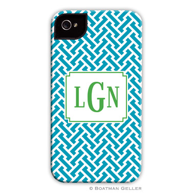 iPod & iPhone Cell Phone Case - Stella Turquoise