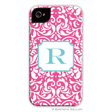 iPod & iPhone Cell Phone Case - Chloe Raspberry