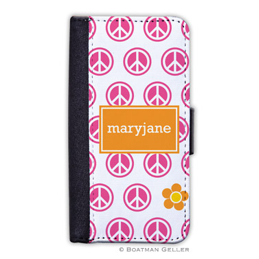 iPod & iPhone Cell Phone Case - Peace Repeat 1
