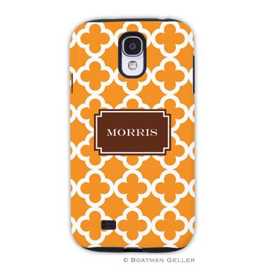 Samsung Galaxy & Samsung Note Case - Bristol Tile Tangerine