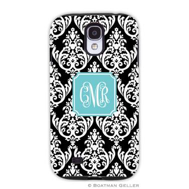 Samsung Galaxy & Samsung Note Case - Madison Damask Black