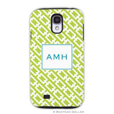 Samsung Galaxy & Samsung Note Case - Chain Link Lime