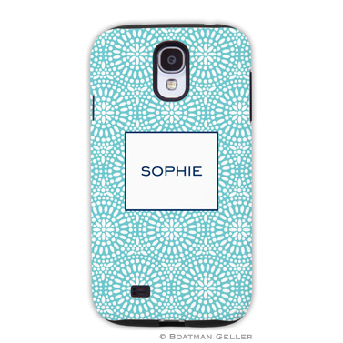 Samsung Galaxy & Samsung Note Case - Bursts Teal