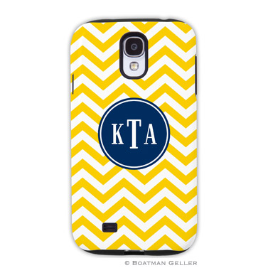 Samsung Galaxy & Samsung Note Case - Chevron Sunflower