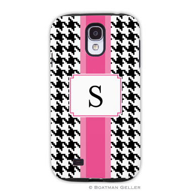 Samsung Galaxy & Samsung Note Case - Alex Houndstooth Black